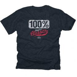 T-Shirt 100% Merica Navy Midnight