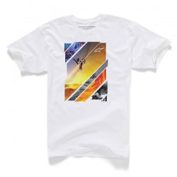 T-Shirt Alpinestars Solaris White