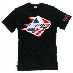 T-Shirt Bud Racing Patriot Noir