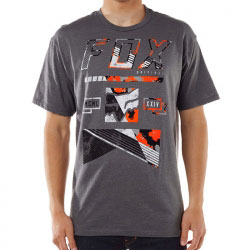 T-Shirt Fox Racing Mapped Out Heather Graphite