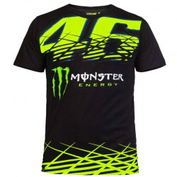 T-Shirt VR46 Monza Monster Black