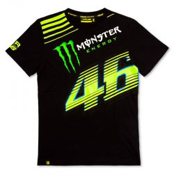 T-shirt VR46 Monster Black