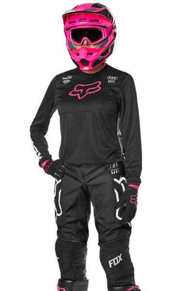 64b5b9cb29c Tenue Cross Femme Fox Racing 180 Mata Noir Rose 2019 - FX MOTORS