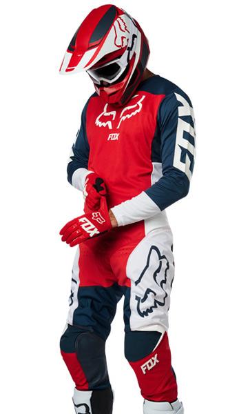 Tenue Cross Fox Racing 180 Przm Bleu Marine Rouge 2019 - FX MOTORS 0256a6c2b783