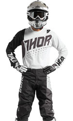 Tenue Cross THOR MX Pulse Aktiv White/Black