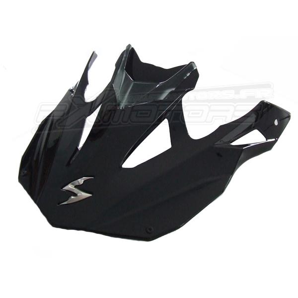 visi re casque scorpion vx 15 evo air solid noir fx motors. Black Bedroom Furniture Sets. Home Design Ideas