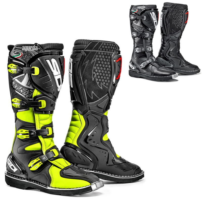bottes moto cross sidi. Black Bedroom Furniture Sets. Home Design Ideas