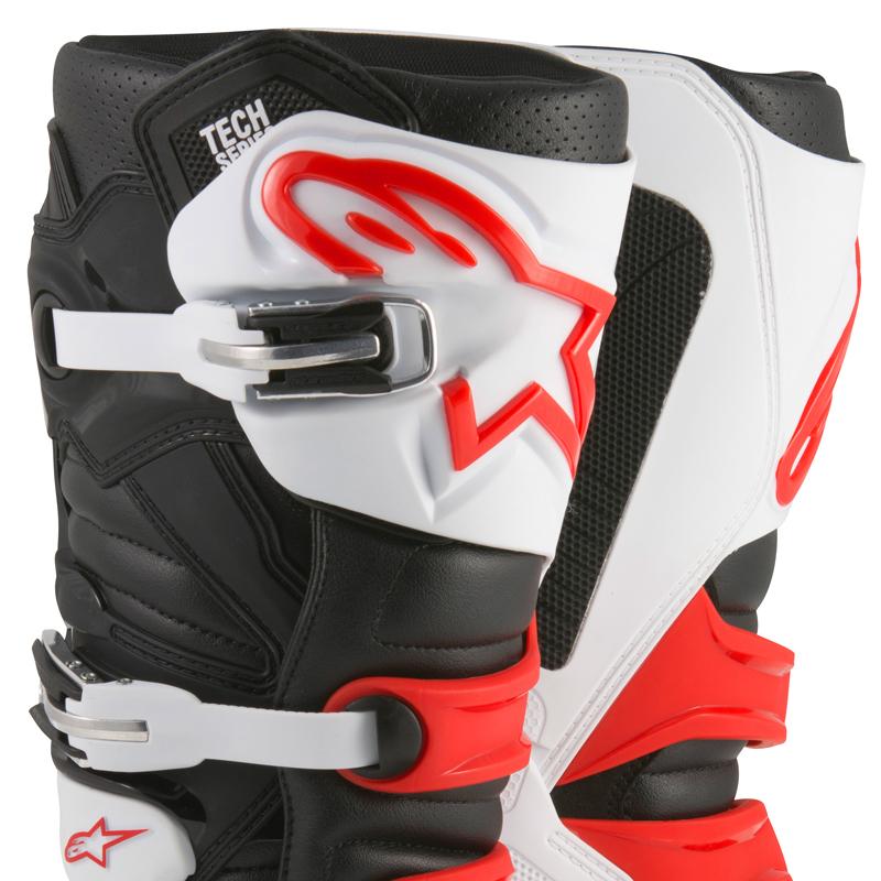 bottes motocross alpinestars tech 7 black red white fx motors. Black Bedroom Furniture Sets. Home Design Ideas