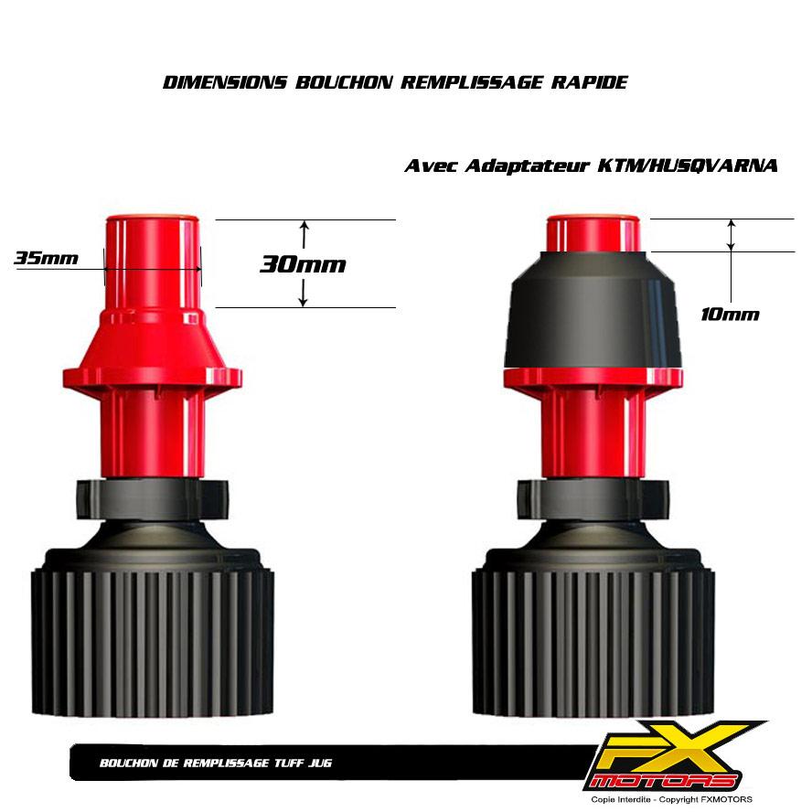 bidon essence remplissage rapide tuff jug 10l 20l fx motors. Black Bedroom Furniture Sets. Home Design Ideas