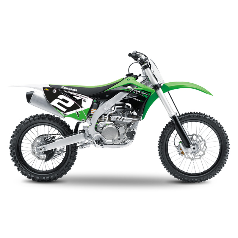 fonds de plaques motocross perso kawasaki kx kxf racing line fx motors. Black Bedroom Furniture Sets. Home Design Ideas