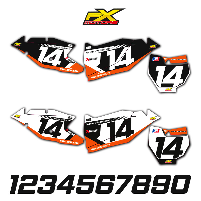 fonds de plaques motocross perso ktm sx sxf racing line fx motors. Black Bedroom Furniture Sets. Home Design Ideas