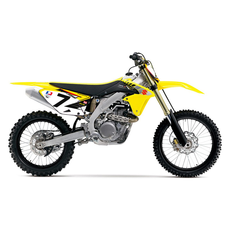 fonds de plaques motocross perso suzuki rm rmz stewart repli fx motors. Black Bedroom Furniture Sets. Home Design Ideas