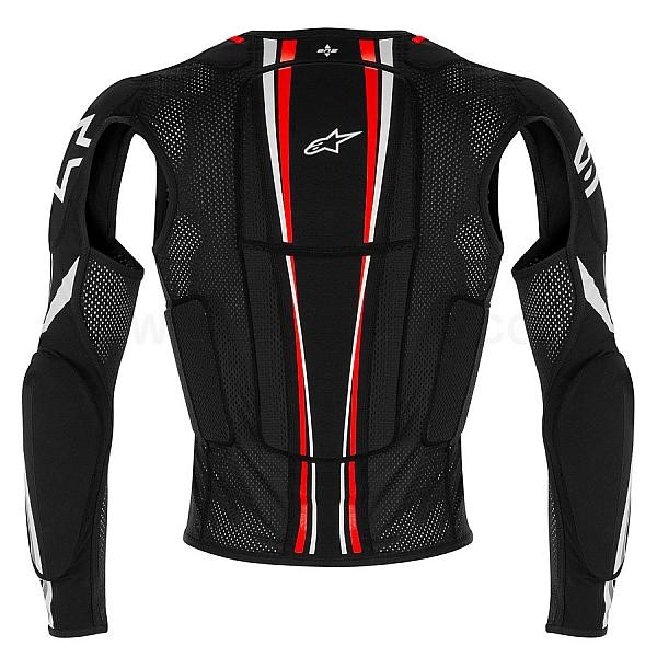 gilet de protection alpinestars bionic plus black red whit fx motors. Black Bedroom Furniture Sets. Home Design Ideas