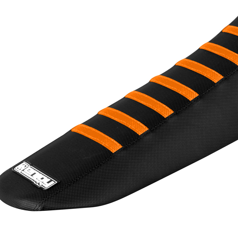 Housse de selle motocross grip enjoy ribbed ktm fx motors for Housse de selle