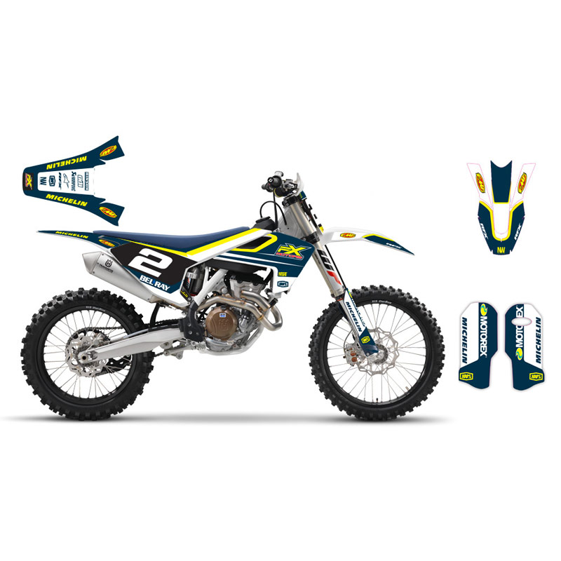kit d co perso fx motors racing line husqvarna tc fc fx motors. Black Bedroom Furniture Sets. Home Design Ideas