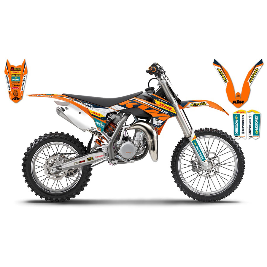 kit d 233 co complet ktm dhl factory replica 2016 fx motors