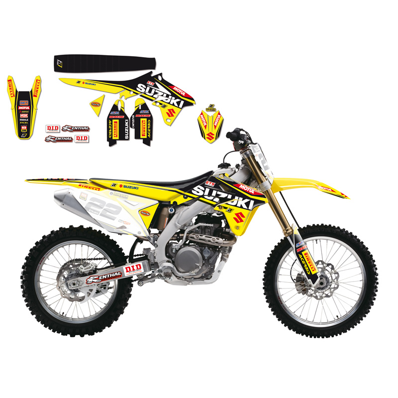 kit d co blackbird r plica team suzuki world mxgp 2016 fx motors. Black Bedroom Furniture Sets. Home Design Ideas