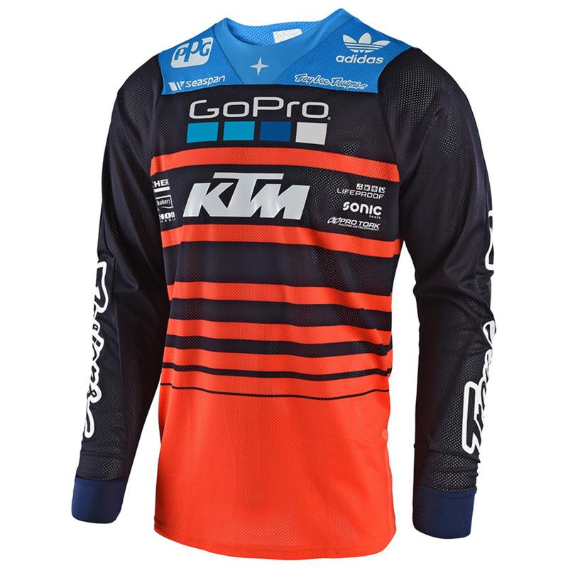 maillot cross tld se air streamline team ktm gopro fx motors. Black Bedroom Furniture Sets. Home Design Ideas