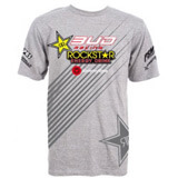 T-Shirt Team Bud Racing Rockstar 2011 - GRIS