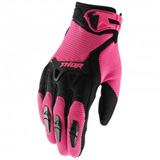Gants Cross THOR MX Spectrum Pink/Black