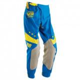 Pantalon Cross Thor Mx Prime Fit Squad Blue/Yellow 2016