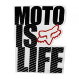 Stickers Fox Racing Moto Is Life