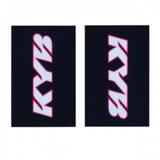 Stickers de Fourche KAYABA - CARBONE/BLANC