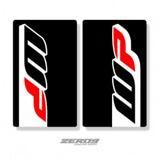 Stickers de Fourche White Power 2016 Black - WP