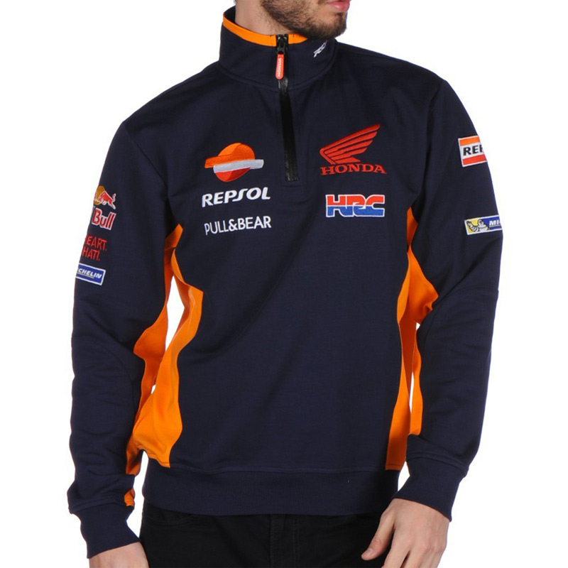 sweat team repsol honda replica bleu t s fx motors. Black Bedroom Furniture Sets. Home Design Ideas