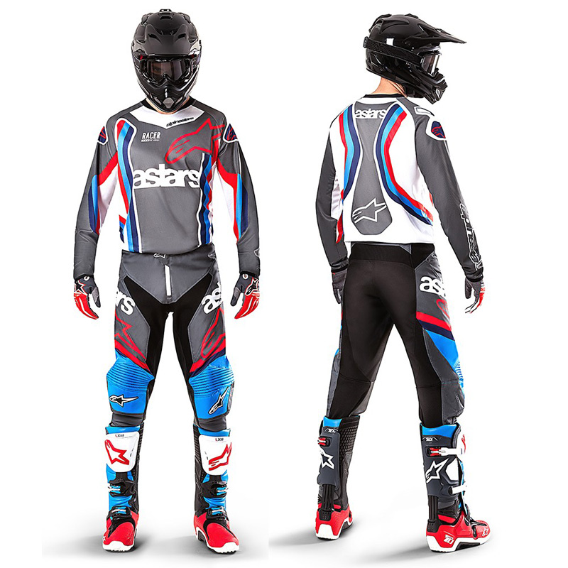 tenue cross alpinestars racer braap bomber 2017 fx motors. Black Bedroom Furniture Sets. Home Design Ideas