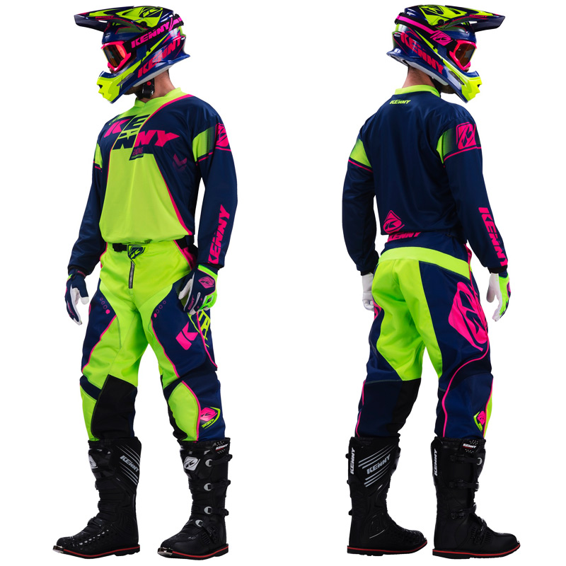 tenue cross kenny track marine lime rose fluo 2017 fx motors. Black Bedroom Furniture Sets. Home Design Ideas