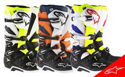 Nouvelles Bottes Motocross Alpinestars 2017