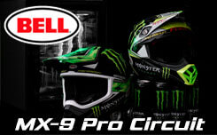 Casque Motocross Bell Pro Circuit Monster