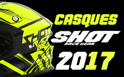 Casques Motocross Shot 2017