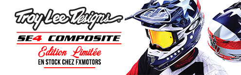 Casques Motocross Troy Lee Designs SE4 Edition Limitee