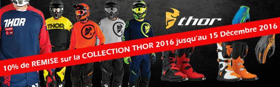 Equipements Motocross Thor 2016