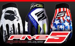 Gants Motocross Five